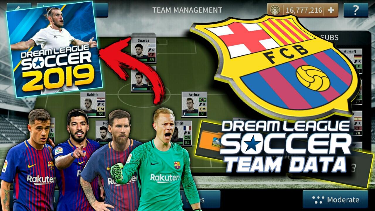 dream league soccer 2019 barcelona download