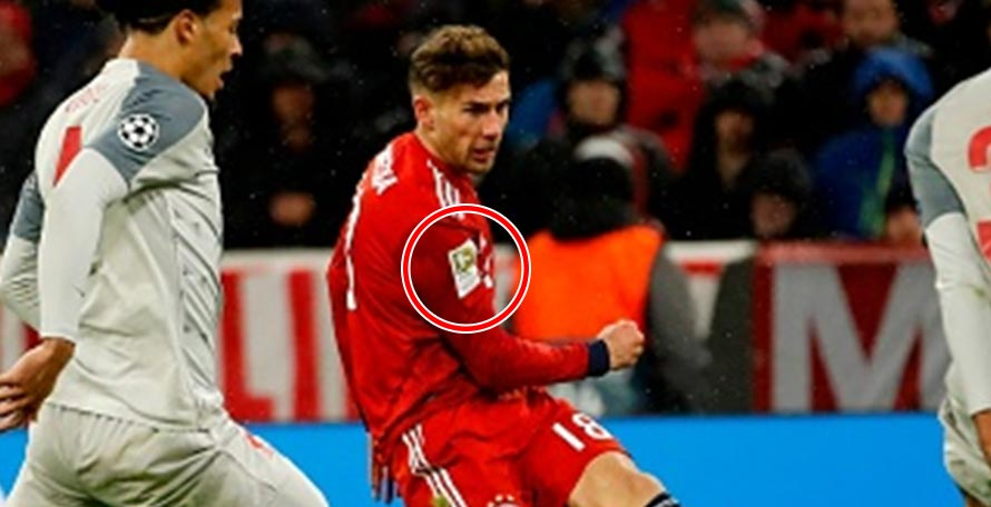 Bundesliga Logo: Goretzka Wears WRONG SHIRT vs Liverpool - Footy ...
