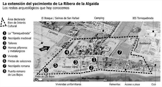 Un proyecto de urbanización del PP amenaza un yacimiento de 3000 años de historia