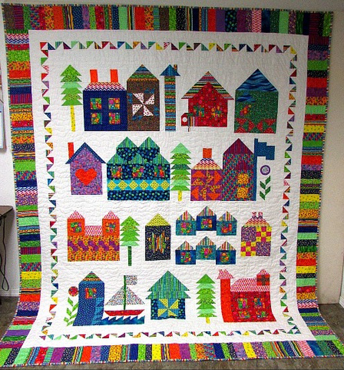 Moda Be My Neighbor Quilt Pattern by Bear Creek Quilting Company