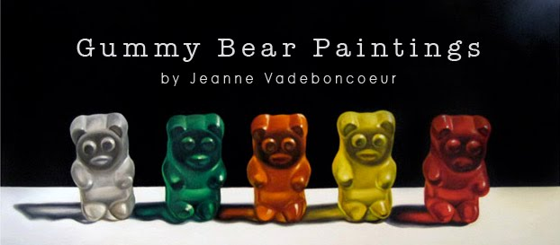 Gummy Bear Paintings