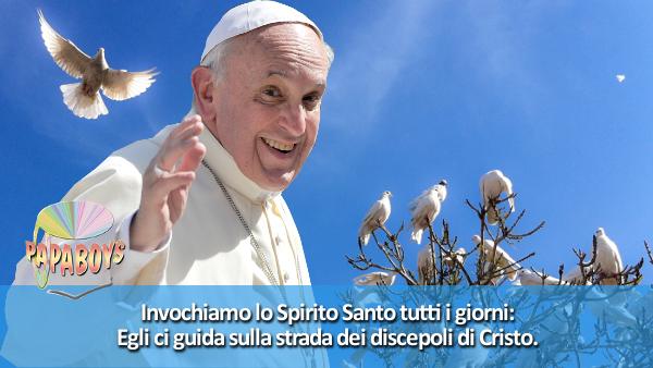 Cartolina Buona Pasqua Papa Francesco: la Gioia del Vangelo