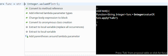 How to convert a lambda expression to method reference in Java 8?