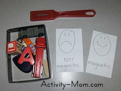 Magnetic vs. Non Magnetic Experiment