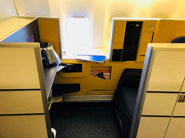 Review: ANA (All Nippon Airways) NH005 First Class Boeing 777-300ER Los Angeles LAX to Tokyo NRT