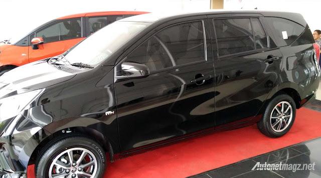 Toyota Calya mini MPV side in Images -  - Toyota Calya – MPV 7 chỗ giá siêu rẻ sắp ra mắt ở Indonesia