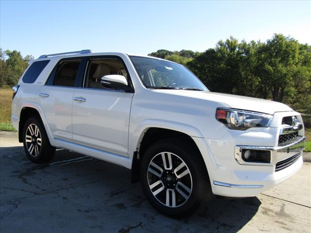 2018 Toyota 4Runner Limited in Crystal White Pearl
