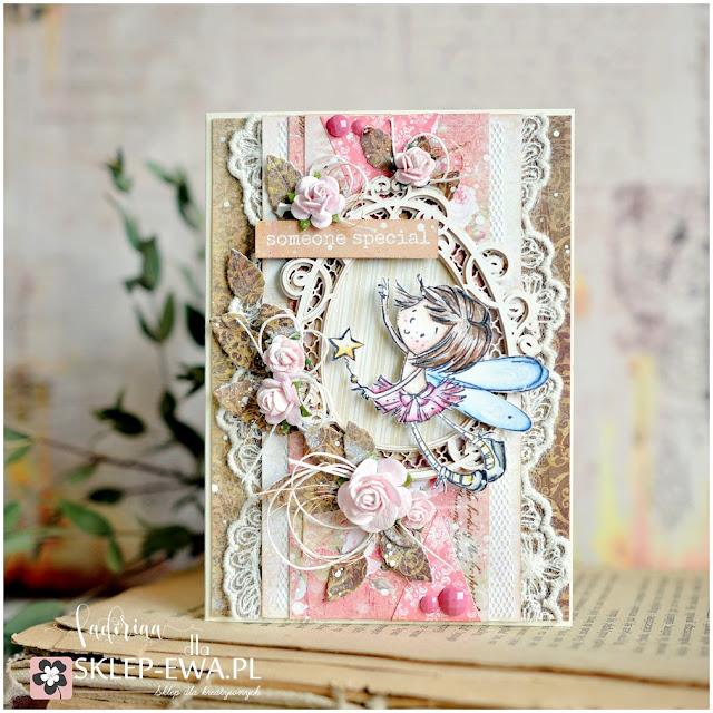 Padoriaa koloruje :) Kartka dla kogoś wyjątkowego.