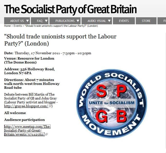 John's Labour blog: November 2011