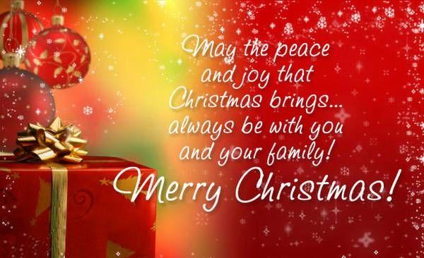 Merry Christmas 2017 Facebook, Whatsapp and Twitter Status