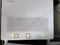 Cara Setting Modem Huawei HG8245A Fiber Optic ke PC