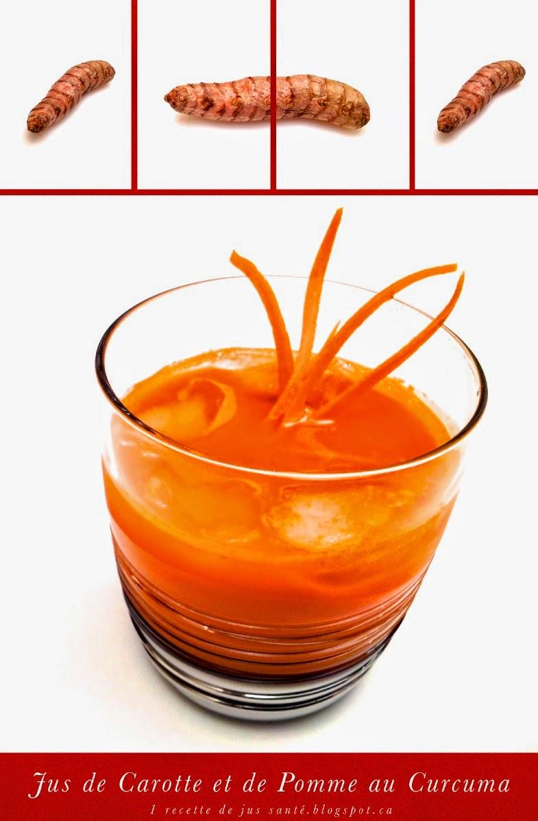 1 recette de jus sant jus de carotte et de pomme au curcuma frais. Black Bedroom Furniture Sets. Home Design Ideas