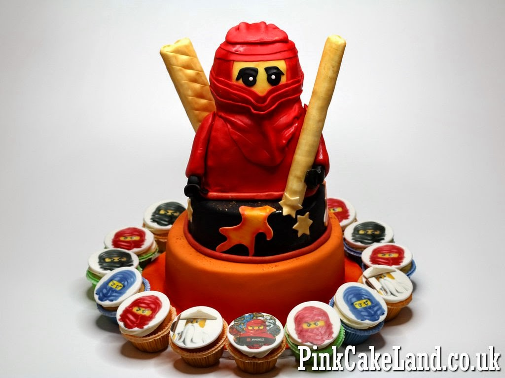 Ninjago Cake and Cupcakes in London