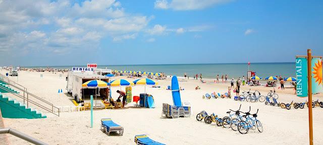 Praia de Daytona Beach