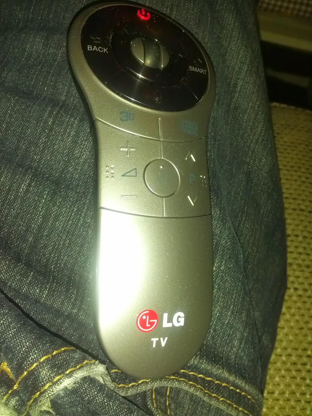 LG 42LA660S magic remote