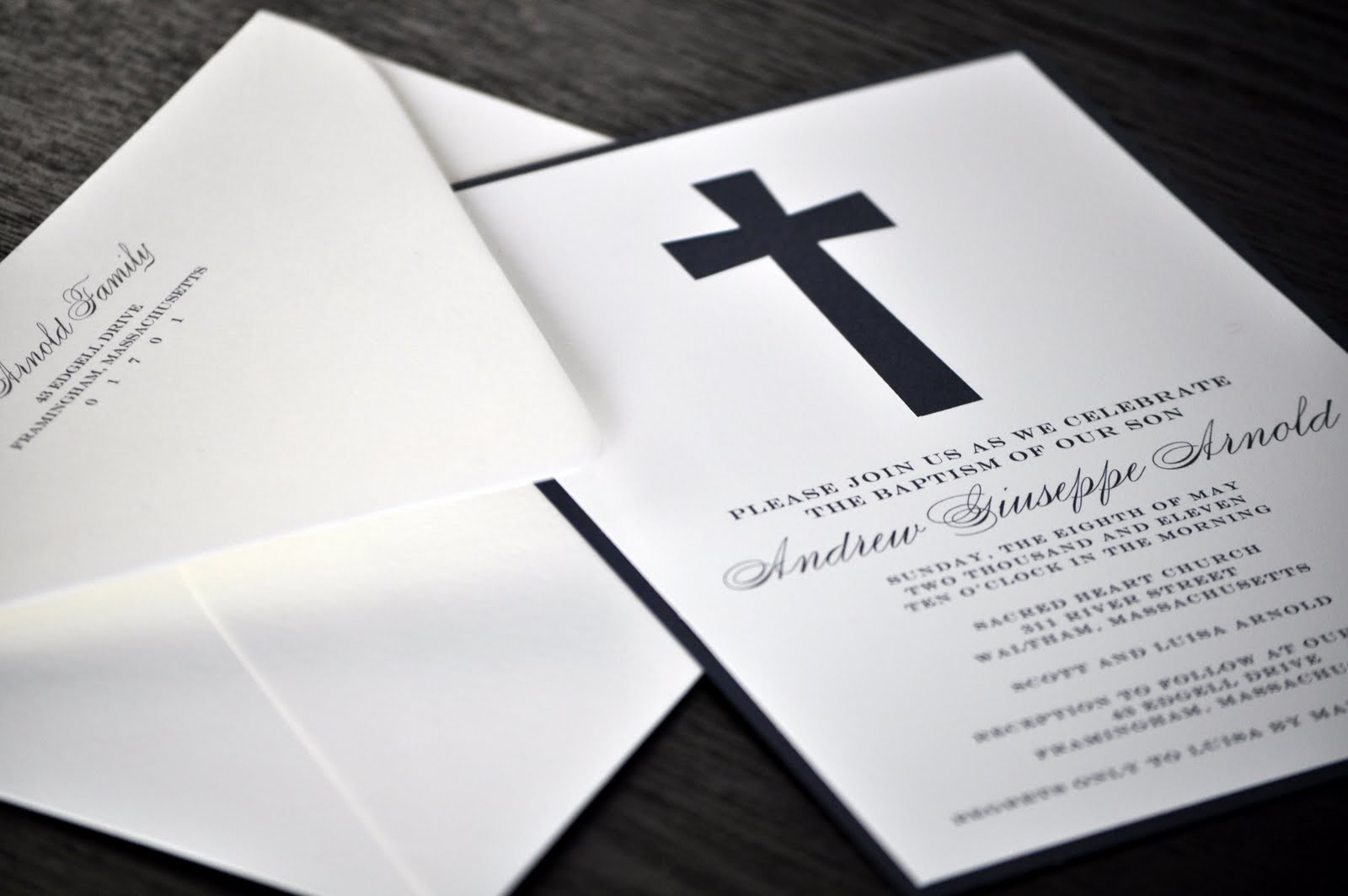 the little black blog lbp party andrew s christening invitations