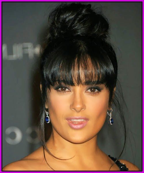 Remarkable Top 15 Black Hairstyles With Buns And Bangs Hairstyles Gallery Hairstyles For Women Draintrainus