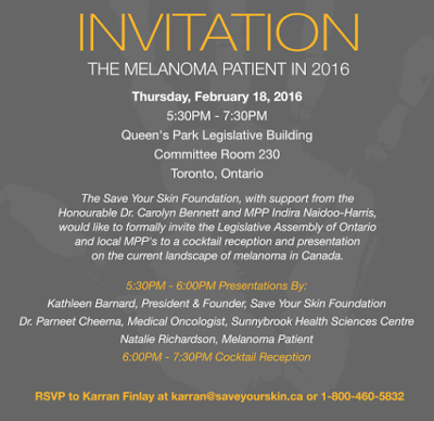http://www.saveyourskin.ca/news/media-advisory-ontario-parliamentary-assistant-to-the-minister-of-health-and-long-term-care-indira-naidoo-harris-expected-to-attend-reception-on-melanoma-in-canada/