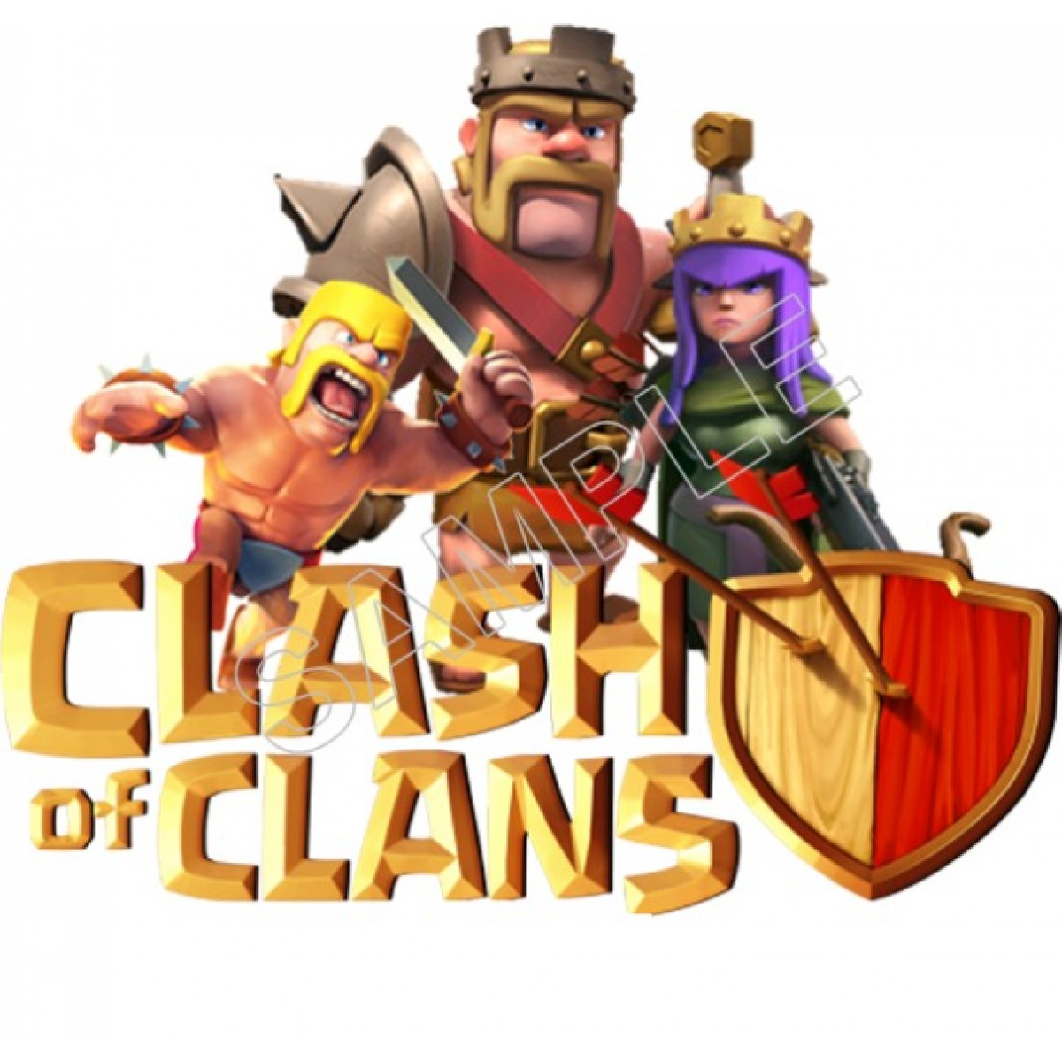 Hd Puzzle Wallpaper Clash Of Clans Logo Free Download