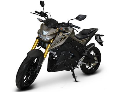Varian Warna Yamaha Xabre Indonesia Matt Grey