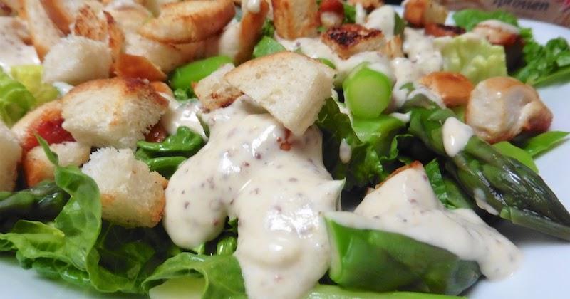 prostmahlzeit spargel caesar salad. Black Bedroom Furniture Sets. Home Design Ideas