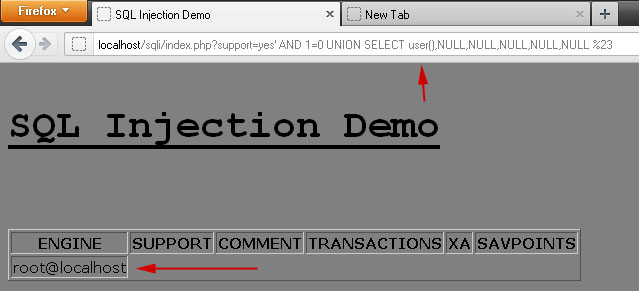 Introduction to SQL Injection and Exploitation (MySQL 5