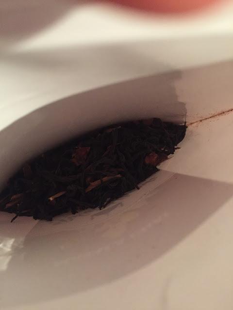 test thé noir palais shanti