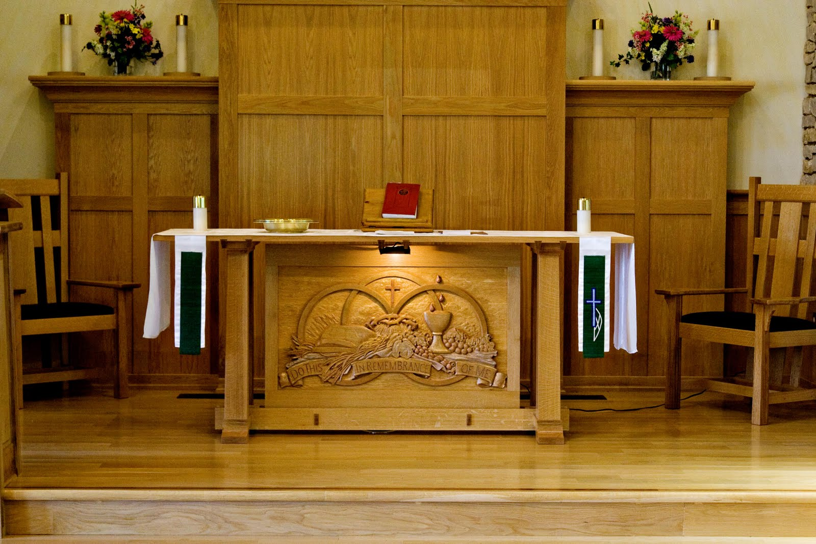 Golden Studios: Bethel Altar Carving