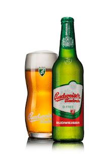 Budějovický Budvar B:FREE, Budweiser checa sin alcohol.