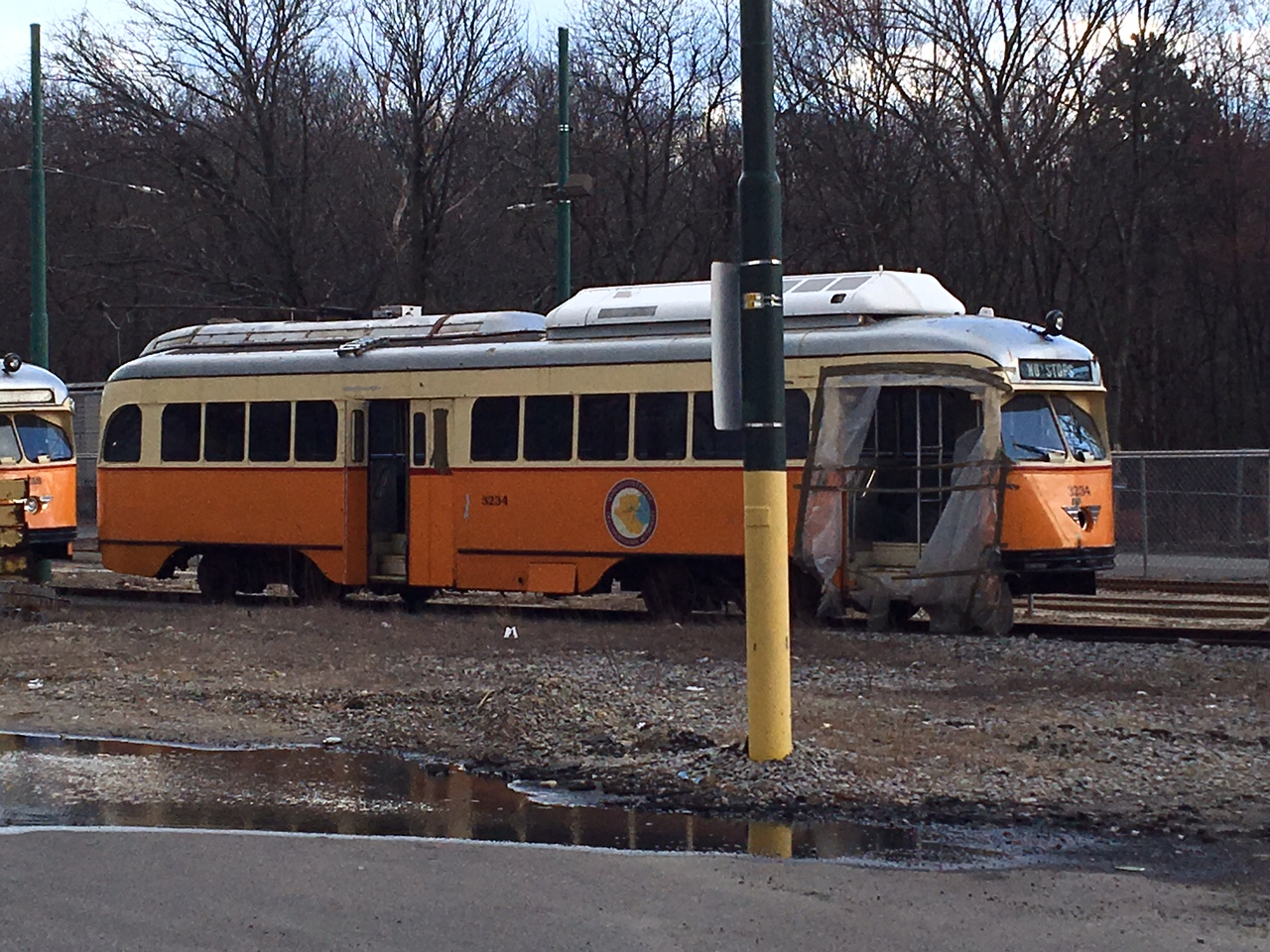 Hicks Car Works To Mattapan By Pcc
