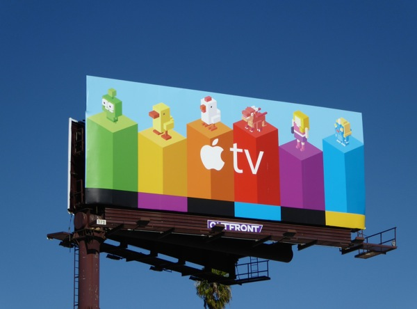 Apple TV second wave billboard