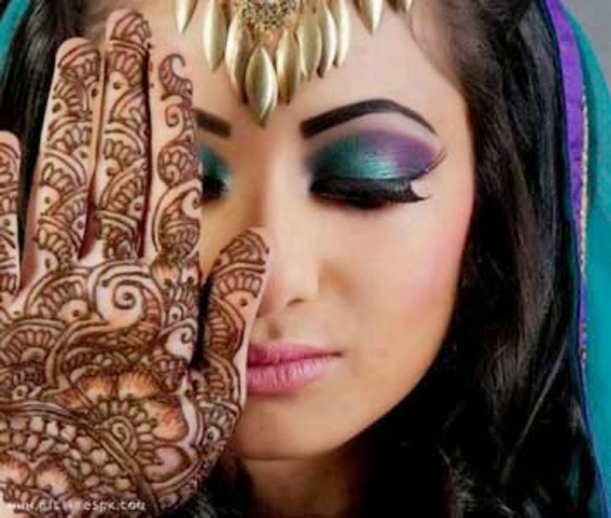 Dynamic Views: New And Most Beautiful Dulhan Walima Makeup ...