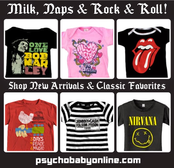 Rock And Roll Band Tees for Kids
