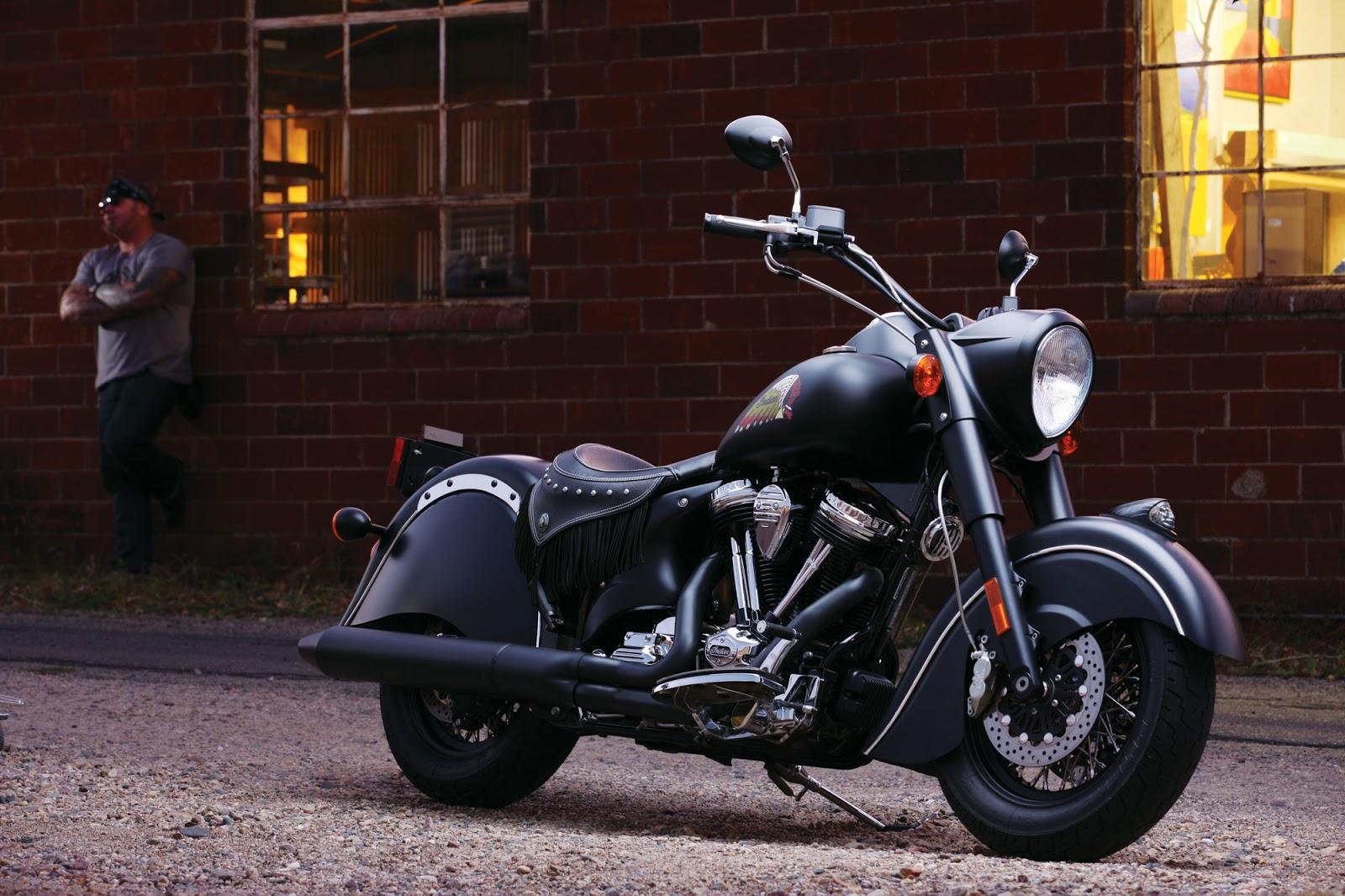 Harley Softail Slim >> Motos: Indian Chief Dark Horse