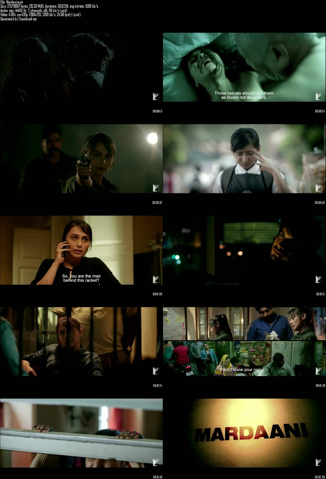 Mediafire Resumable Download Link For Teaser Promo Of Mardaani (2014)