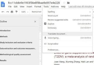Cara Praktis dan Cepat Menterjemahkan Sebuah File Bahasa Inggris Menjadi Bahasa Indonesia