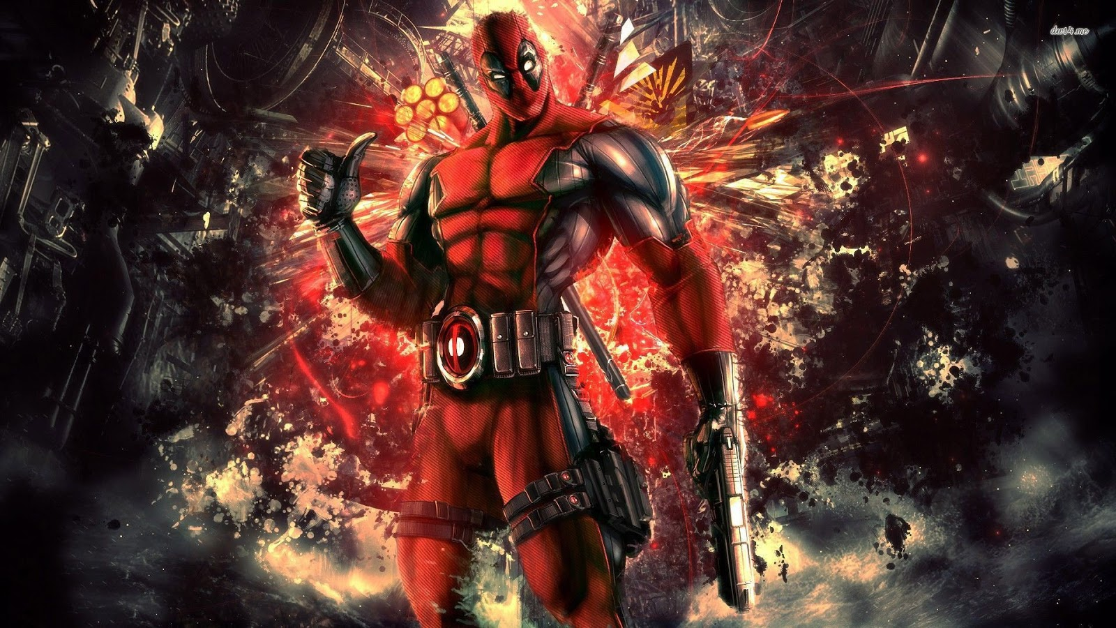 wallpaper deadpool 4k