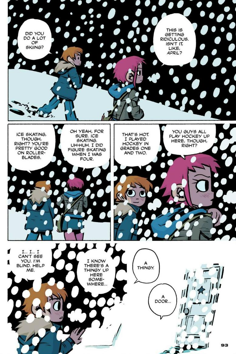 Read online Scott Pilgrim comic -  Issue #1 - 85