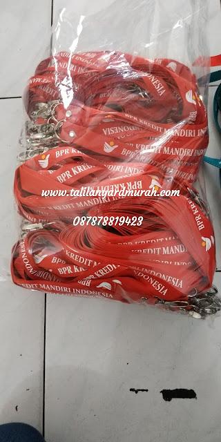 Distributor tali lanyard jakarta