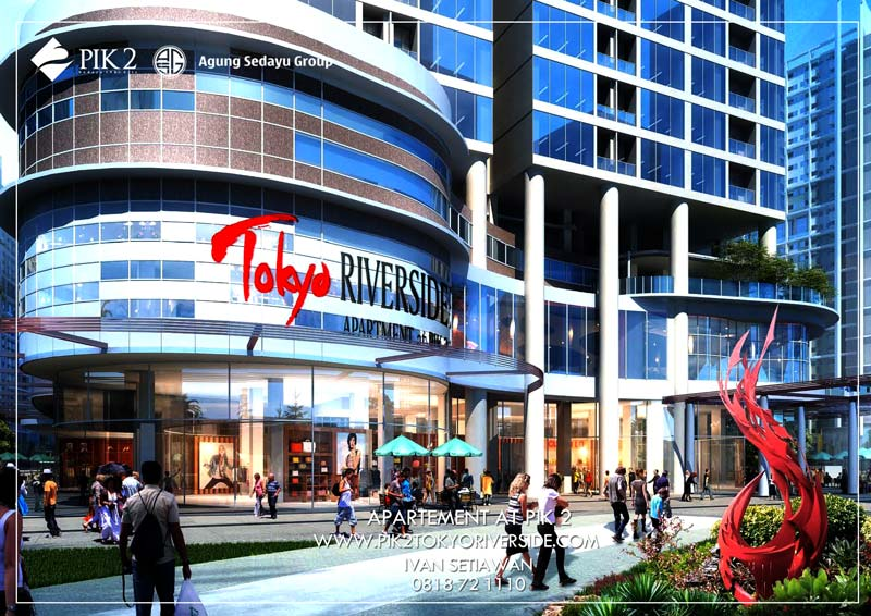 mall tokyo riverside pik 2