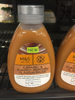 marks and spencer caramel and toasted popcorn sauce