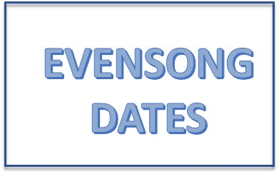 Evensong Dates