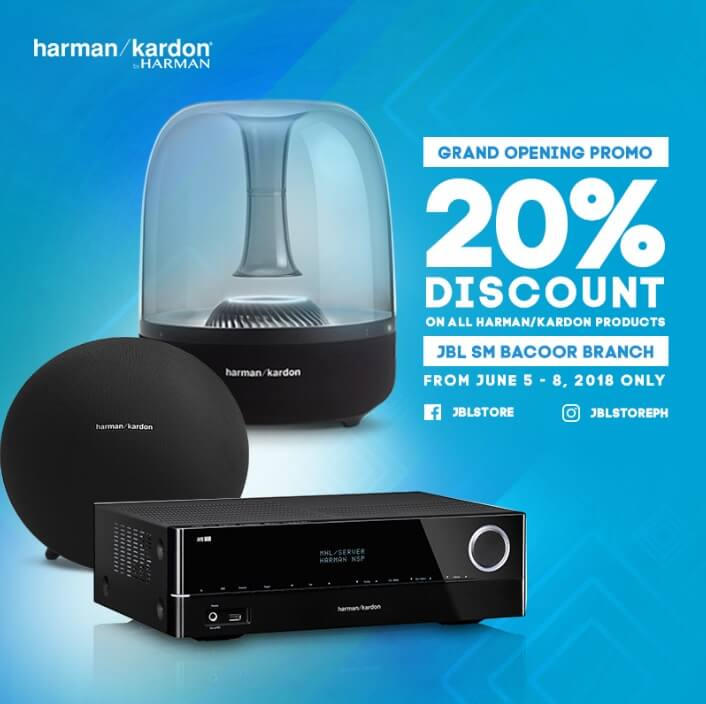 20% discount on all Harman Kardon products