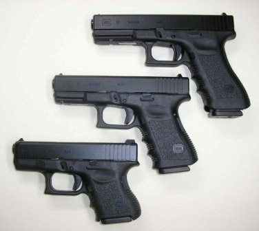 Glock family of handguns