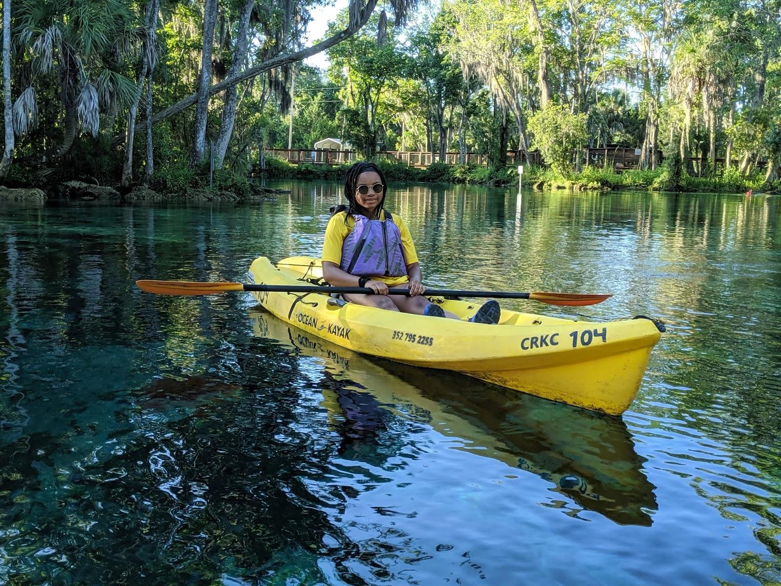 crystal river manatee kayak 4