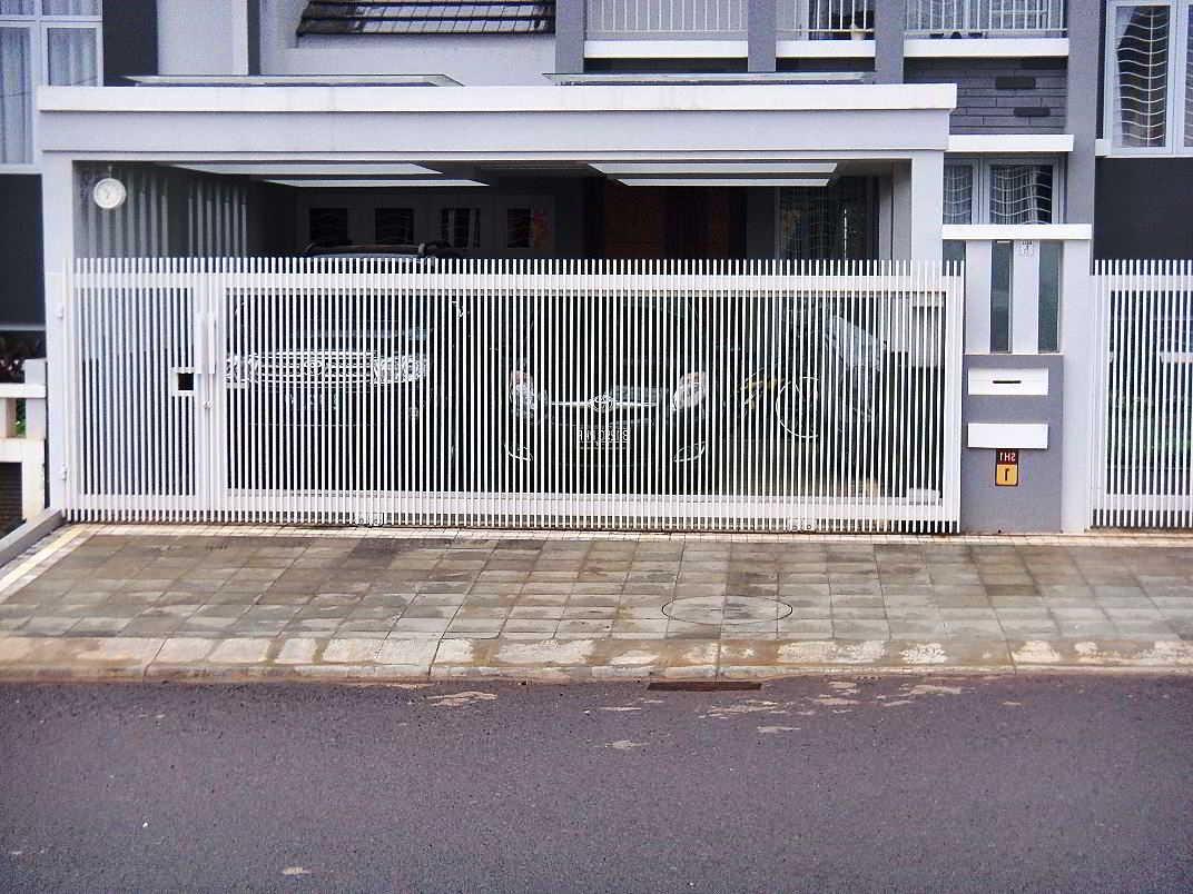 26 model dan gambar desain pagar rumah minimalis warna