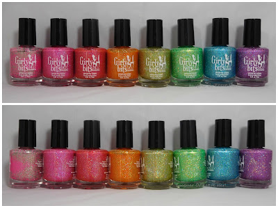 Girly Bits Cosmetics Sequins & Satin Pants Collection
