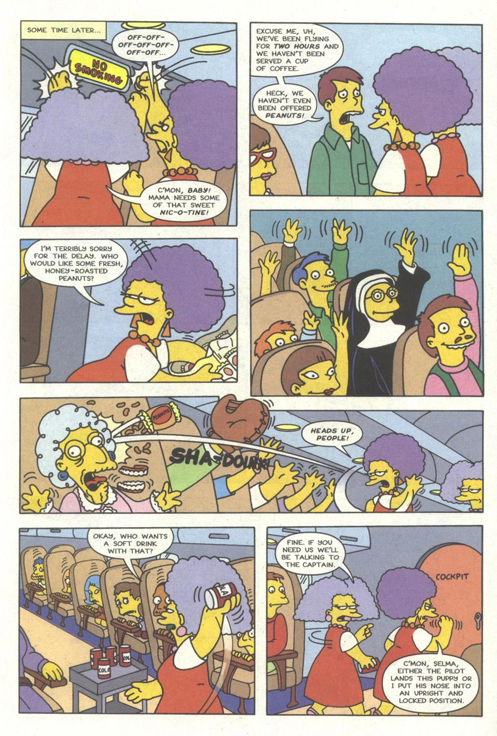 Read online Simpsons Comics comic -  Issue #16 - 18