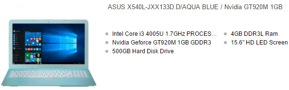 harga laptop asus core i3 vga nvidia 1gb