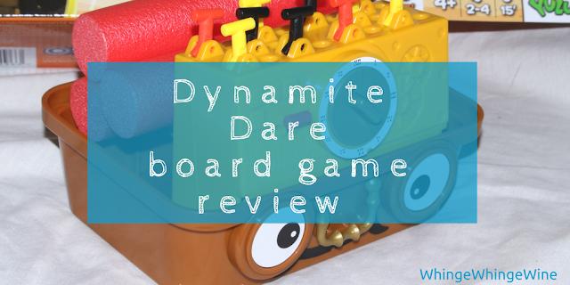 Defuse or lose: Dynamite Dare board game review (Brainstorm)